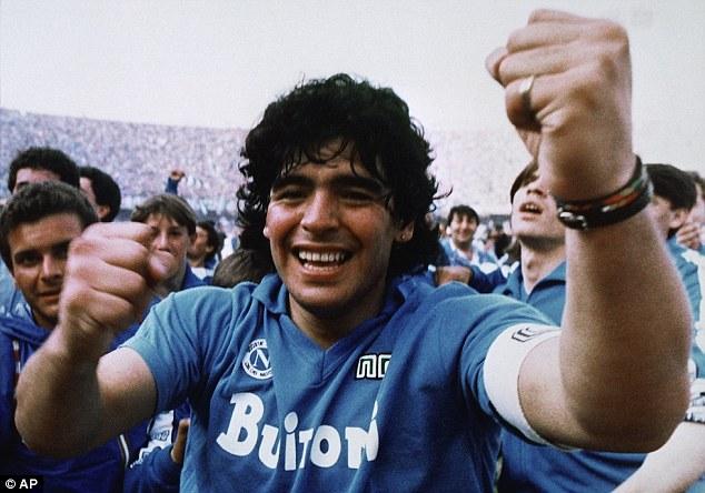 Maradona Napoli First Scudetto