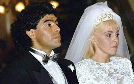 maradona wedding claudia vivafane